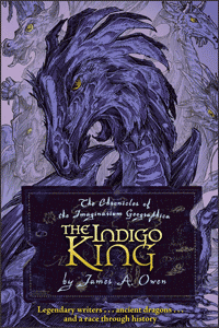 Imaginarium Geographica Indigo King cover