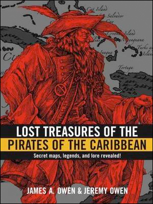 Lost Treasure of the Pirates of the Caribbean cover